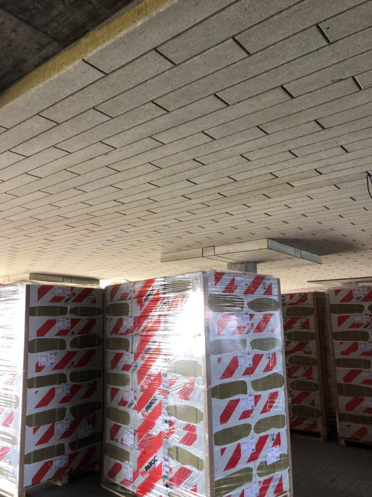 Пример огнезащиты потолка от ПАРОК